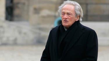 Philippe Tesson à Paris, le 13 mars 2012.