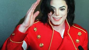 Michael Jackson en 1996.