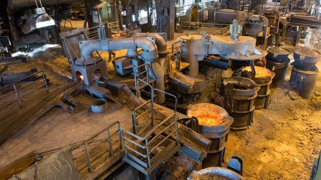 La production industrielle a progressé en avril.