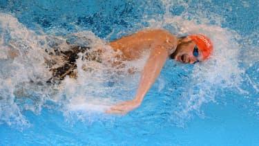 Amaury Leveaux, ici aux championnats d'Europe de natation en 2012, affirme dans son livre que des nageurs français utilisent la cocaïne comme dopant.