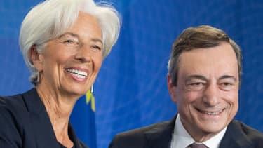 Christine Lagarde succède à Mario Draghi à la tête de la BCE