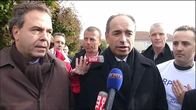 Jean-François Copé, à Colombey-les-deux-Eglises, le 9 novembre 2012
