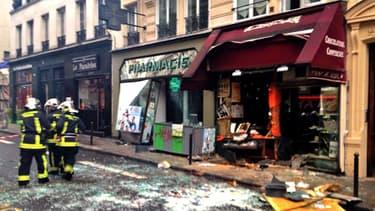 L'explosion a fait trois blessés graves, transportés à l'hôpital en urgence absolue.