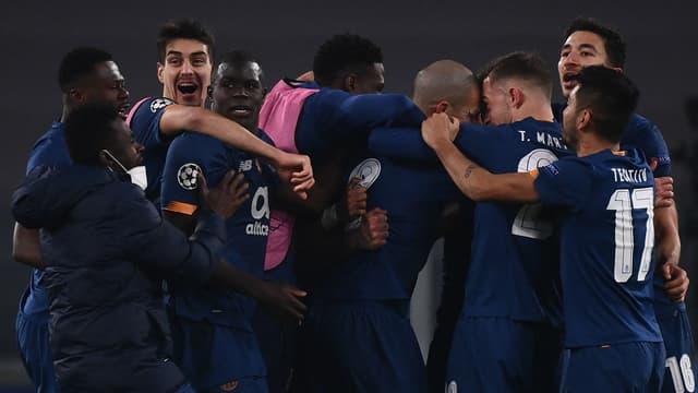 La joie des joueurs du FC Porto