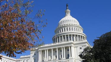 Le Capitole, où siège le Sénat, dans la capitale Washington.