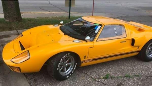 La réplique de GT40 subtilisée à son propriétaire
