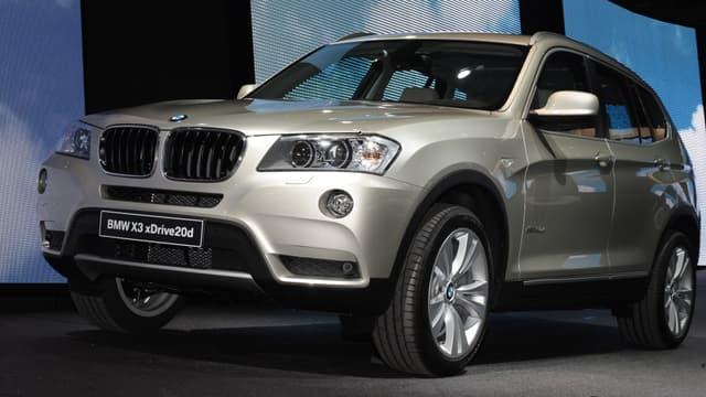 Les ventes de BMW, comme celle de Mercedes ou Audi, sont mal orientées.