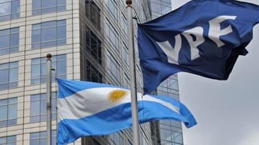 Le siège d'YPF, l'ex-filiale argentine de Repsol, à Buenos Aires.