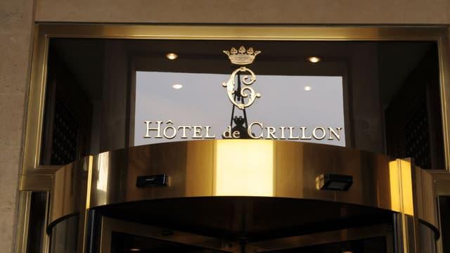 L'hôtel de Crillon a fermé ses portes pendant quatre années