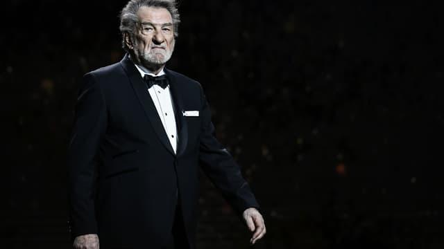 Eddy Mitchell aux César en mars 2018