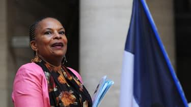 Christiane Taubira a vivement critiqué la proposition de réforme du droit du sol de Jean-François Copé.