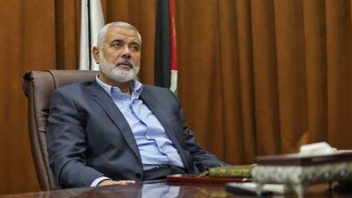 Le chef du Hamas Ismaïl Haniyeh, le 12 octobre 2017