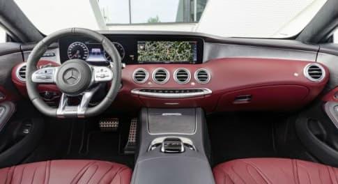 L'intérieur de la dernière Mercedes Classe S