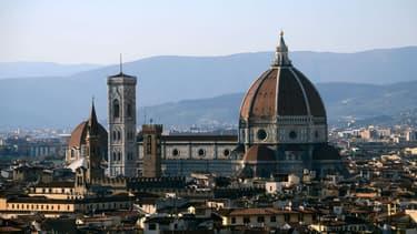 La ville de Florence, en Italie