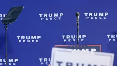 Donald Trump lors d'un meeting à Portsmouth, dans le New Hampshire, le 15 octobre 2016
