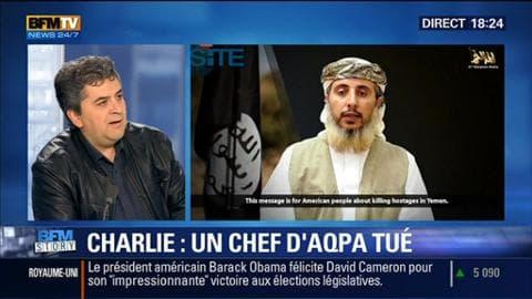 L'homme qui a revendiqué l'attentat contre Charlie Hebdo a été tué par un drone