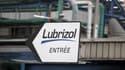 L'entrée du site de l'usine Lubrizol, à Rouen, en janvier 2013.