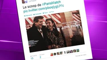 Paris Match prêta à Arnaud Montebourg une relation amoureuse avec Elsa Zylberstein.