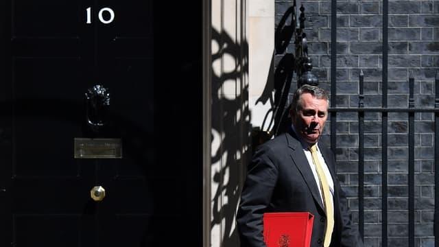 """""""Au moment où nous quittons l'UE, nous devons avoir des objectifs élevés"""", souligne le ministre du Commerce international Liam Fox."""