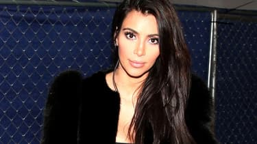 Kim Kardashian en janvier 2015