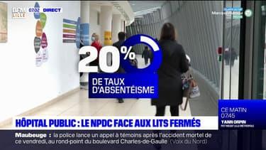 Hauts-de-France: les hôpitaux publics face à la pénurie de soignants