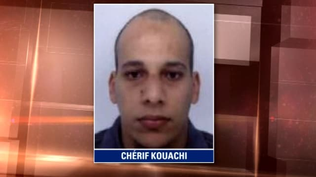 Chérif Kouachi, l'un des terroristes auteur de la tuerie au journal Charlie Hebdo.