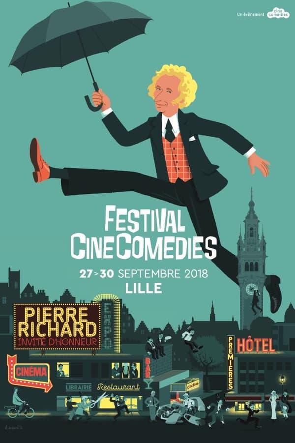Affiche du festival CineComedies
