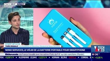 Start up & co : Nono Services, le vélib de la batterie portable pour smartphone - 24/05