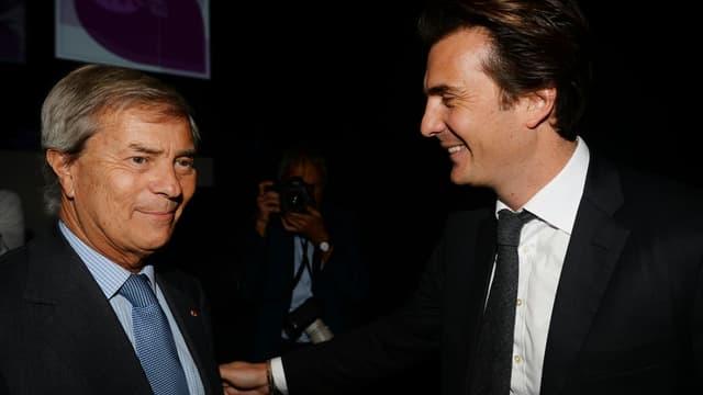 Vincent Bolloré et son fils Yannick Bolloré, PDG de Havas, siègent au conseil de surveillance de Vivendi.