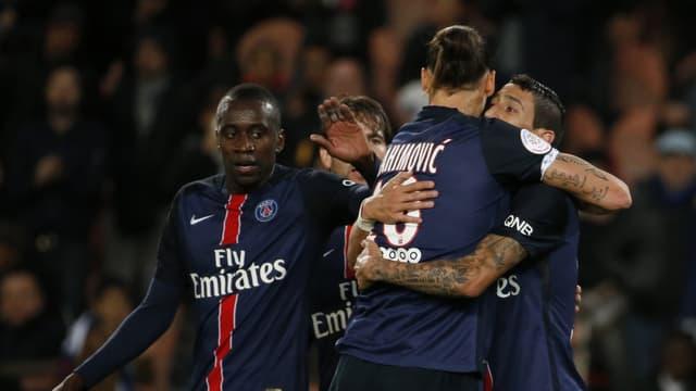 Zlatan Ibrahimovic et Angel Di Maria