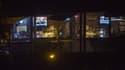 Une vue de l'intérieur du Borderline Bar and Grill, où la fusillade s''est déroulée, le 8 novembre.