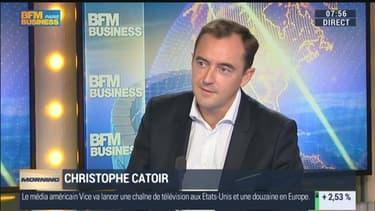 Les étudiants ont jusqu'au 21 mars pour déposer leur candidature et suivre partout pendant un mois le PDG d'Adecco, Christophe Catoir (ci-contre invité de BFM Business).