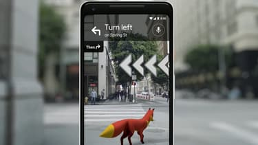 La réalité augmentée permettra d'afficher un animal qui servira de guide à l'utilisateur