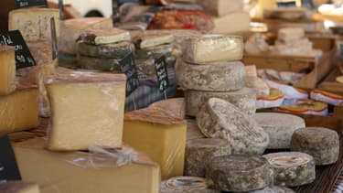 Des fromages à vendre (PHOTO D'ILLUSTRATION).