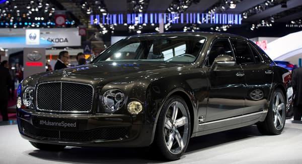 Cette Bentley coûte 324.000 euros