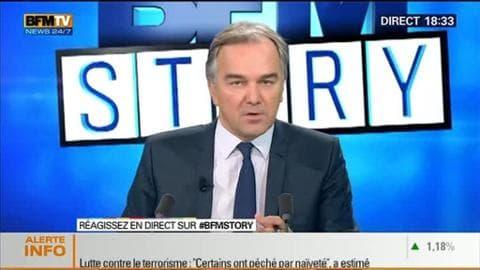 """BFM Story: Lutte contre le terrorisme: faut-il un """"Patriot Act"""" à la française ? - 12/01"""