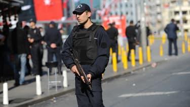Un policier turc. (photo d'illustration)