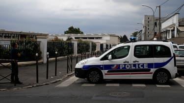 Patrouille de police à Argenteuil (illustration)