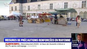 Covid: masque obligatoire, distanciation entre les commerçants... La ville de Laval réorganise son marché par mesure de précaution