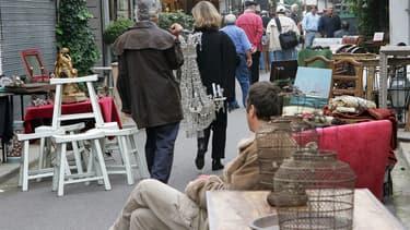 Les puces de Saint-Ouen (Photo d'illustration)