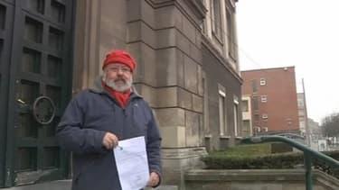 Jean-Pierre Decodts, atteint d'une fibrose, réclame justice dans le procès de l'amiante