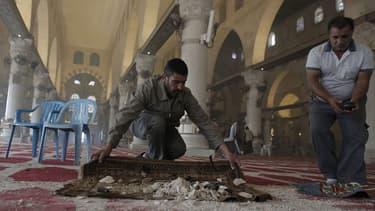 Le 5 novembre, des soldats israéliens avaient pénétré dans la très symbolique mosquée al-Aqsa à Jérusalem, un geste exceptionnel.