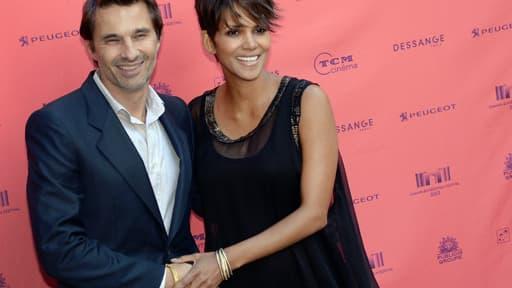 Halle Berry et Olivier Martinez à l'occasion du Festival Toiles enchantées à Paris le 13 juin 2013.