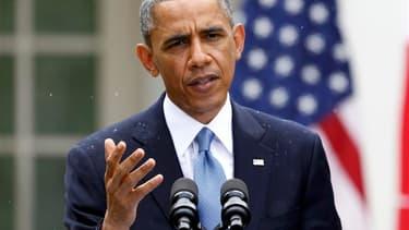 Barack Obama a limogé le directeur par intérim du fisc américain, Steven Miller, en réaction à la controverse provoquée par le ciblage de groupes conservateurs par des agents des impôts. /Photo prise le 16 mai 2013/REUTERS/Jason Reed