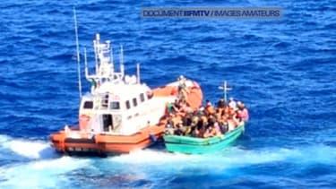 Une centaine de naufragés syriens ont été secourus par un paquebot de croisière.