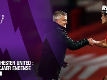 Manchester United : Solskjaer encense Cavani