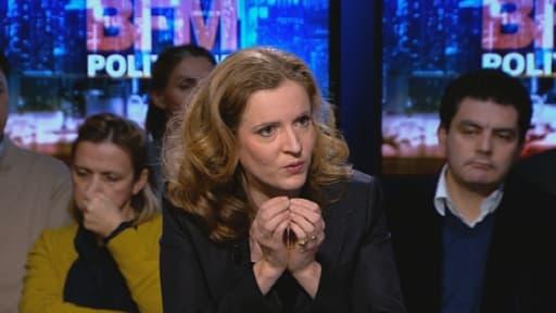 Nathalie Kosciusko-Morizet a fustigé l'absence de réaction de François Hollande suite à la dégradation de la France par Standard and Poor's.