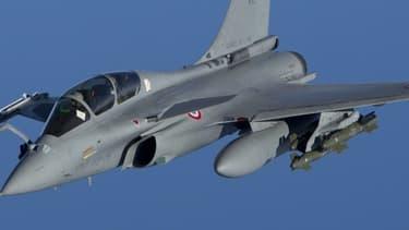 S'il y a un domaine où la France devance tous ses voisins européens à l'export, c'est bien celui de l'armement (ici un Rafale de Dassault).