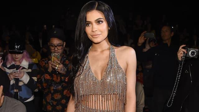 Kylie Jenner lors de la Fashion Week de New York en février 2017