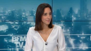 Brune Poirson ce vendredi soir sur le plateau de BFMTV.